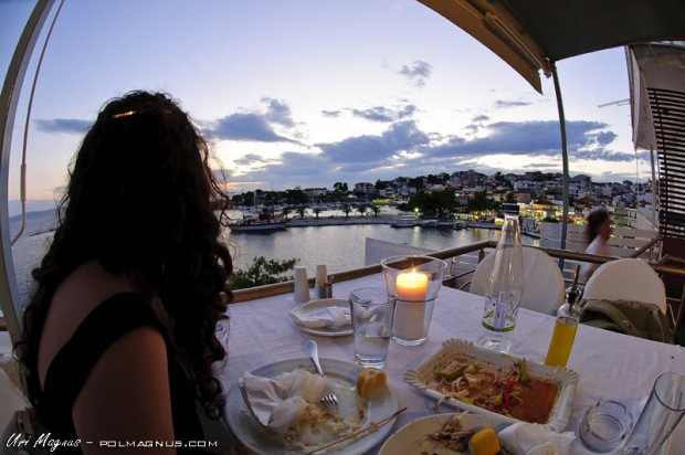 מסעדה טובה בכפר neos marmaras - צפון יוון - okyalos