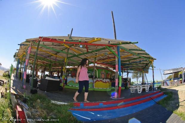 beach bar destenika beach- צפון יוון - חלקידיקי - סיטוניה
