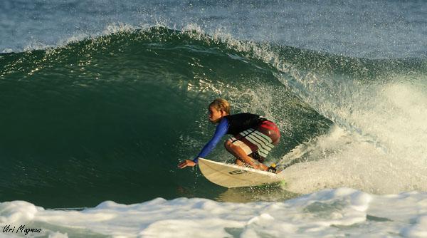 צילום מהחוף - בוק גלישה לבר מצווה, בתמונה: ריף שחף