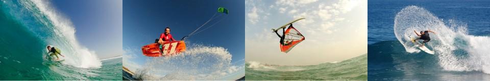 צילום גלישה וספורט ימי