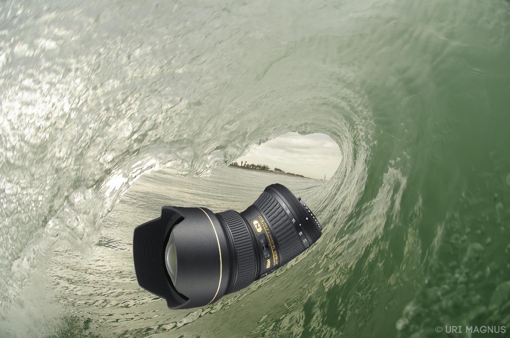 עדשות לצילום גלישה וספורט ימי